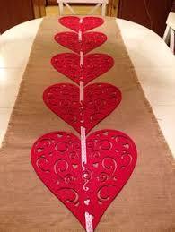 valentine s day table runner forever always burlap table runner by thisjoyfulhome 15 on etsy