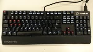 ozone strike pro keyboard review good keyboard bad software