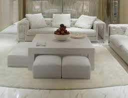 White Ottoman Coffee Table - coffee table fabulous leather coffee table white ottoman coffee