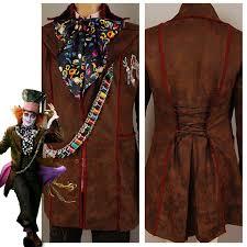 Johnny Depp Costumes Halloween Aliexpress Buy Alice Wonderland Johnny Depp Mad Hatter