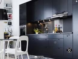cuisine ikea noir mat decoration interiors and kitchens