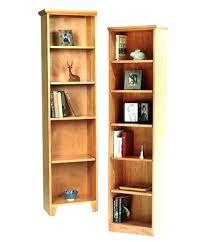 Unfinished Bookcases With Doors Wood Bookshelves Office Wooden Shelf Ikea Baddgoddess