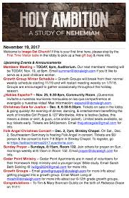 november 19 2017 nehemiah 12 27 47 celebration and thanksgiving