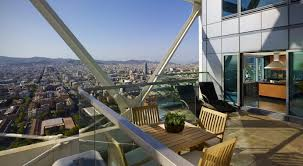 2 Bedroom Penthouse City View Sky Suite Luxury Hotel Apartment Suites In Barcelona Hotel Arts Barcelona