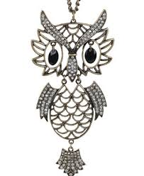 vintage owl necklace jewelry images Vintage owl necklace celebrities who use a vintage owl necklace jpg