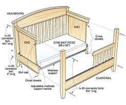 Convertible Crib Plans A Step By Step Photographic Woodworking Guide Page 183