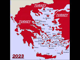 Greece Turkey Map by The New Map Of Turkey Youtube