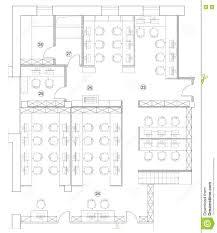 Office Chair Side View Vector Floor Plan Furniture Vector