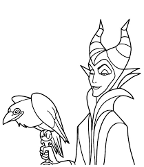 maleficent evil plan princess aurora coloring pages