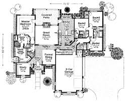 monster house plans houseplans com main floor plan plan 310 276 floorplans