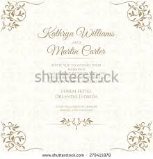 Wedding Invite Template Wedding Invitation Stock Images Royalty Free Images U0026 Vectors