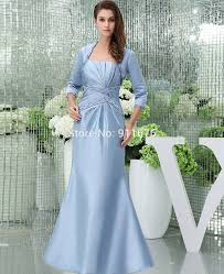 aliexpress com buy light blue satin special occasion mother of