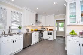 cherry wood bright white yardley door shaker kitchen cabinets