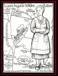 little house on the prairie coloring pages virtren com