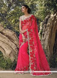 engagement sarees for hot pink and designer saree ready to ship