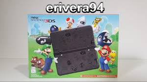 nintendo 3ds xl black friday new nintendo 3ds system unboxing mario black friday limited
