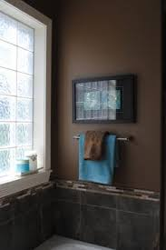 Bathrooms Painted Brown Our New Bath Towels The Teal Color Walls Are Now Painted In