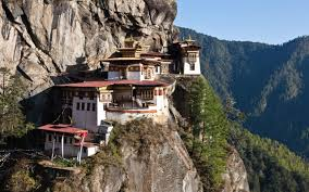 taktshang goemba tigers nest monastery bhutan in a mountain