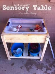 how to build a sensory table diy a homemade sensory table and tinker table sensory table