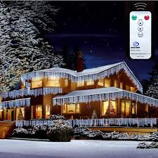 bright led outdoor christmas lights christmas xmas bright led snowing icicle lights indoor outdoor house