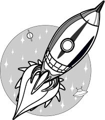 cartoon rockets