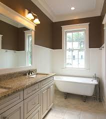 bathroom ideas with beadboard 4 inexpensive ideas for a small bathroom home tips for
