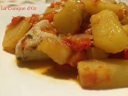comment cuisiner le blanc de poulet blanc de poulet aux poivrons et pommes de terre les recettes de