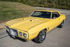 Last Year Of Pontiac Firebird 1969 Pontiac Firebird Fast Lane Classic Cars