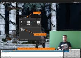 xsplit workshop using chroma key