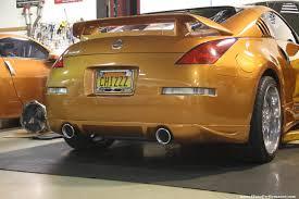 Nissan 350z Orange - 2003 nissan 350z n a j tune performance
