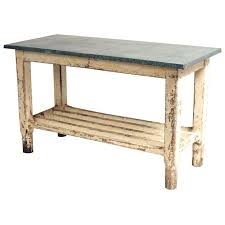 vintage kitchen work table vintage galvanized work table kitchen island kitchens vintage and