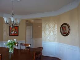 two tone dining room color ideas homes abc