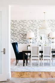 Transitional Dining Room Ideas 2017 Grasscloth Wallpaper Wallpaper In Dining Room Blogbyemy Com