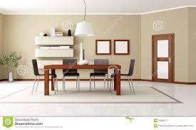 sale da pranzo eleganti sala da pranzo moderna elegante illustrazione di stock