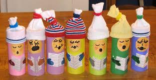jennspeak craft project toilet paper roll carolers
