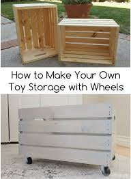 Create Your Own Toy Chest by Make Your Own Diy Toy Storage Diy Inspired
