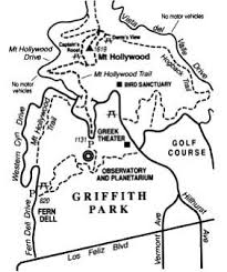 griffith park map hike to mount in griffith park for a comprehensive view