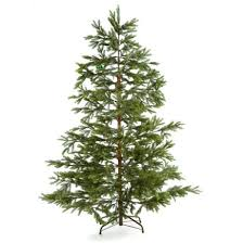 newbury fir pe mix artificial tree 7ft notcutts