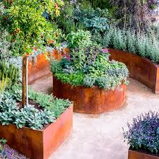 modern edibles small veggie garden ideas sunset vegetable curved