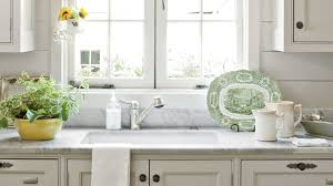 Pictures Of Kitchens With White Cabinets And Black Countertops Our Best Cottage Kitchens Southern Living