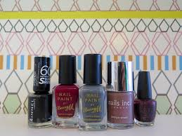 my top 5 autumnal nail u0026 lip colours style and the sagittarius