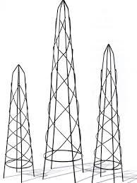 Obelisk Trellis Metal Metal Garden Obelisk 5 Sizes Metal Military Sundial Topiary