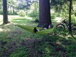 how to diy hammock for bikepacking singletracks mountain bike news