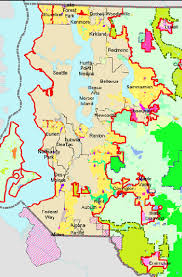 seattle map by county do growth boundaries work the dirt