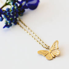 butterfly gold necklace images Gold butterfly necklace by heather scott jewellery jpg