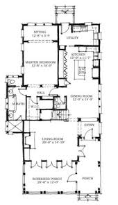 first floor plan of cottage florida southern house plan 72317 main