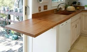 Wood Kitchen Countertops 30 Rustic Countertops That Will Make Your Home Cozier And Comfier