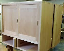 How To Build Cabinets Doors Diy Sliding Cabinet Door Sliding Door Designs