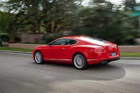 bentley red 2014 bentley continental gt v8 s first test motor trend