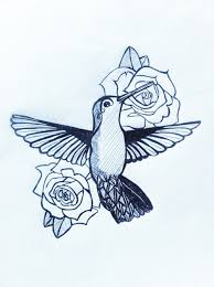 hummingbird tattoo design by abbieabnormal on deviantart
